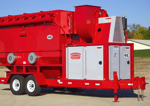 Dust collector mobile unit rental