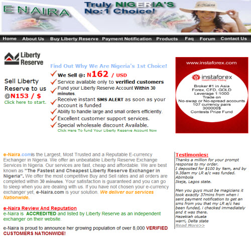 Exchangers nigeria